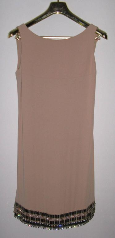 Women's AZZARO Size 38 FR Short Pink Dress For Sale