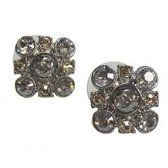 Earrings CHANEL Studs Set with Brilliants