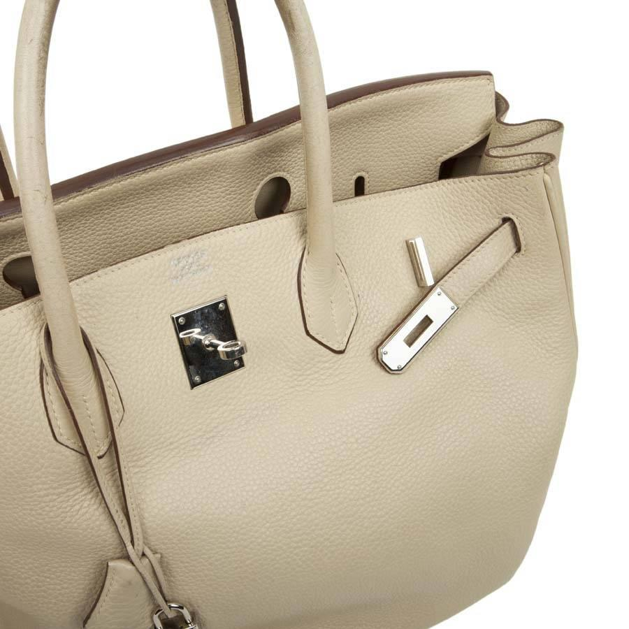 adc94601df19 ... coupon code for hermes birkin 40 bag in beige taurillon clemence leather  for sale 5 a997c