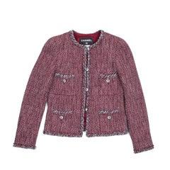 CHANEL 'Paris Venise' Jacket in Tweed Size 36FR