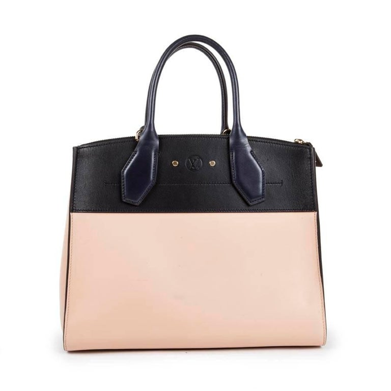 Women's LOUIS VUITTON 'City Steamer MM' Bag in Tricolor Smooth Leather For Sale