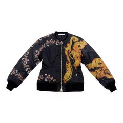 Collector GIVENCHY Jacket in Printed Canvas Size 40EU
