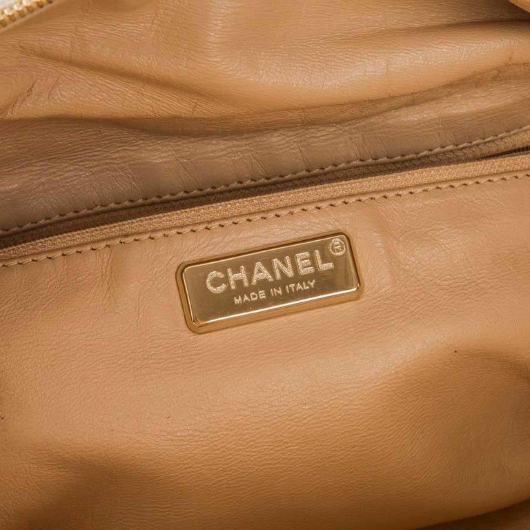 CHANEL Bowling Bag in Gilded Distressed Leather For Sale at 1stdibs 739d02827a398