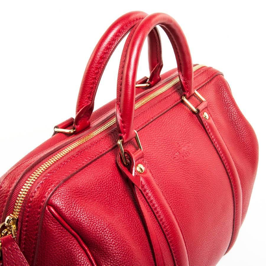 Louis Vuitton Bag In Cherry Soft Grained Calf Leather And Velvet Kid Leather 3aoj6t