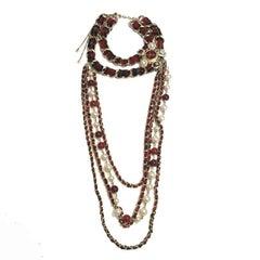 CHANEL Necklace from 'Paris-Edinburgh' Métiers d'Art Collection