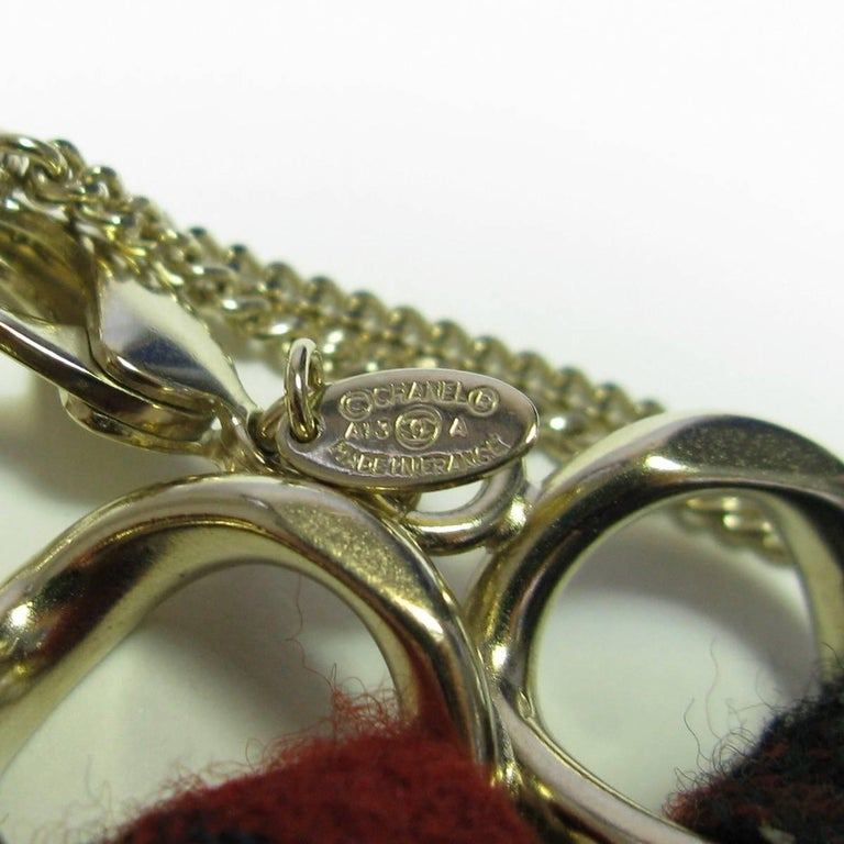 CHANEL Necklace from 'Paris-Edinburgh' Métiers d'Art Collection For Sale 4