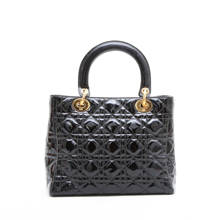 f6a156788953d5 Vintage Dior Patent Black Purse | Stanford Center for Opportunity ...