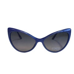 TOM FORD 'Anastasia' Sunglasses in Blue Plastic