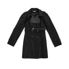 Miu Miu Black Raincoat