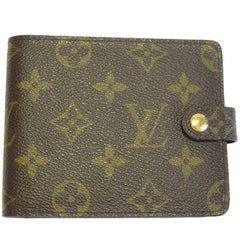 LOUIS VUITTON Notepad Cover in Brown Monogram Canvas