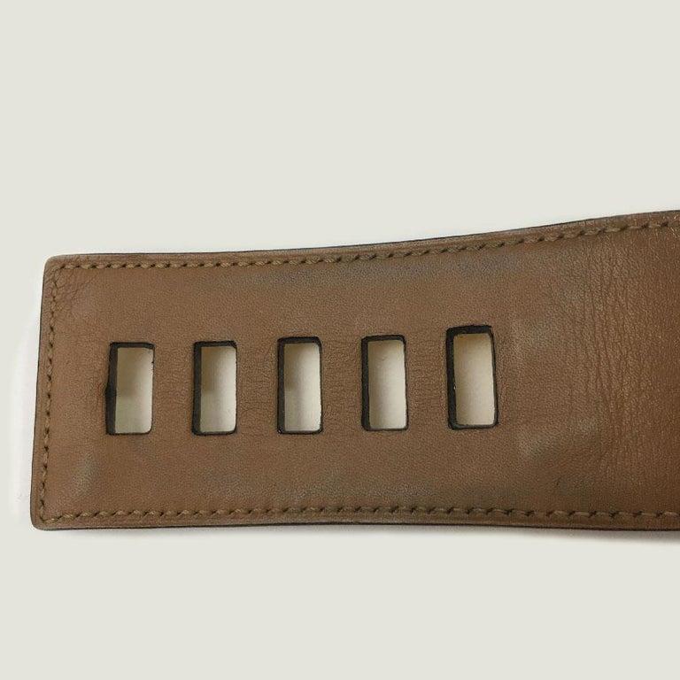 Hermes Collier de Chien Vintage Belt in Black Box Leather For Sale 8