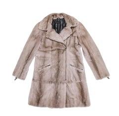 RIZAL Coat in Pearl Gray Mink Size 38FR