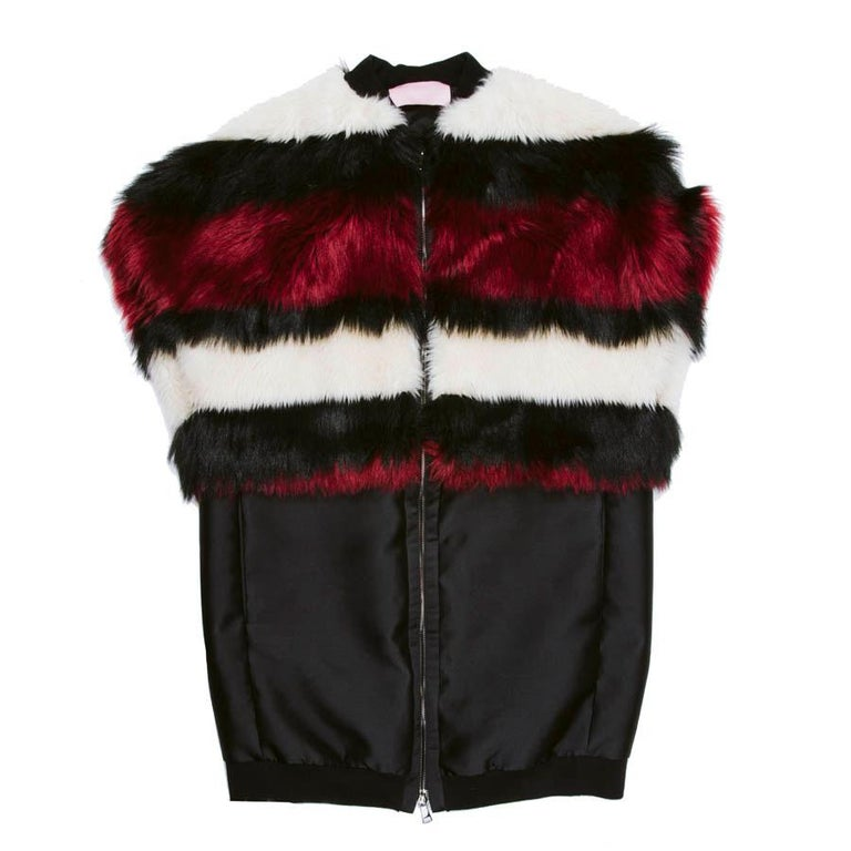 GIAMBATTISTA VALLI Jacket in Silk and Polyester Size XS For Sale