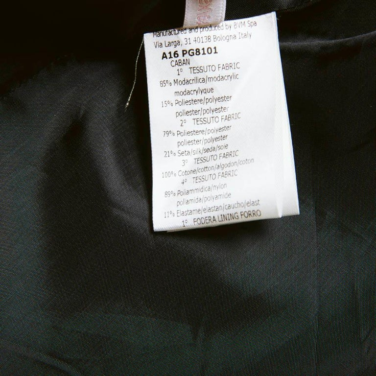 GIAMBATTISTA VALLI Jacket in Silk and Polyester Size XS For Sale 2