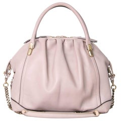 "Nina Ricci ""La Rue"" Powder Pink Leather Bag"