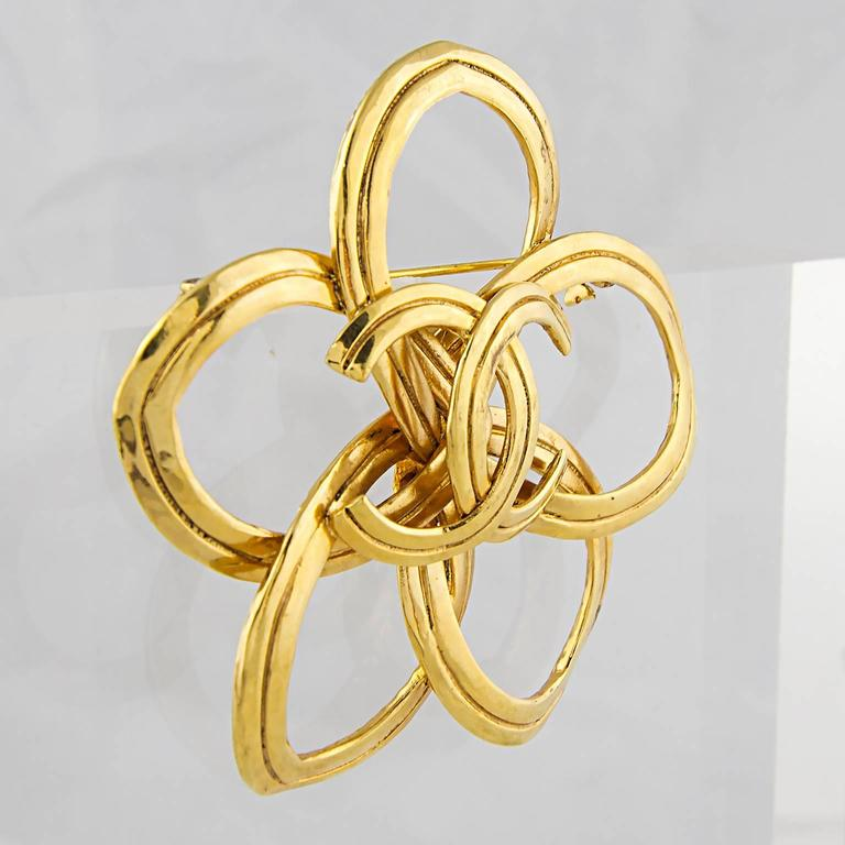 Chanel Abstract CC Brooch 2