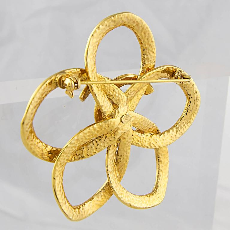 Chanel Abstract CC Brooch 4