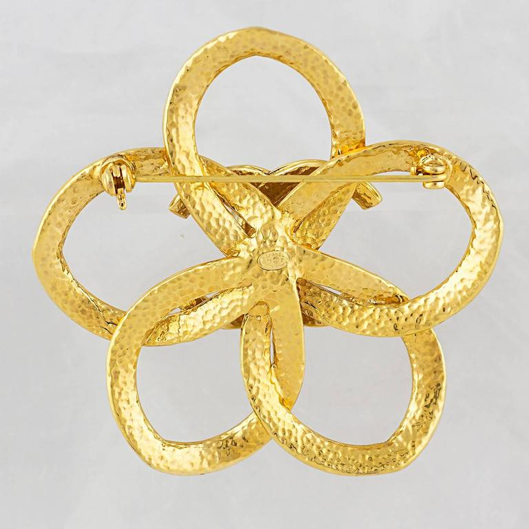 Chanel Abstract CC Brooch 5