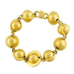 Celine Paris Star & Planets Bracelet