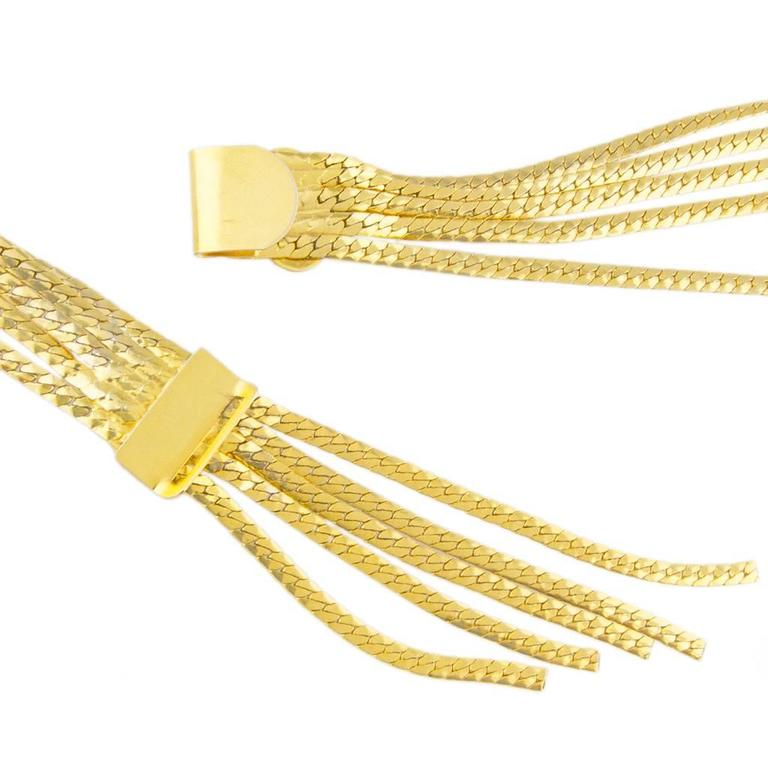 Bijoux Vintage Christian Dior : Christian dior bijoux multi chain belt for sale at stdibs