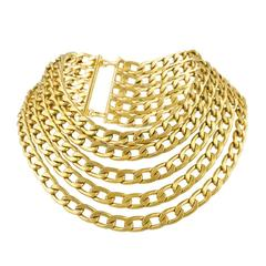 Chanel 1970's Multi Chain Necklace