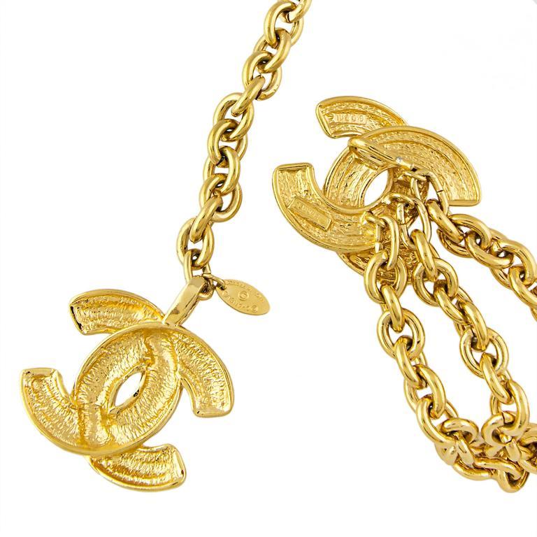 Chanel 1980's CC Chain Belt  4