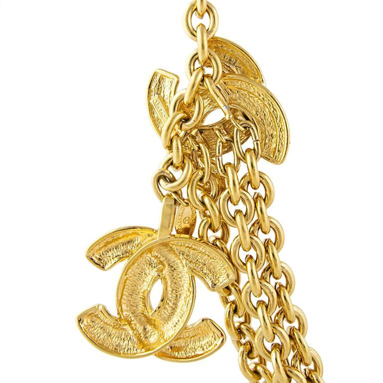 Chanel 1980's CC Chain Belt  5