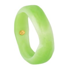 Christian Lacroix Green Abstract Bangle