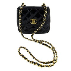 Chanel Patent Leather Mini Flap Bag