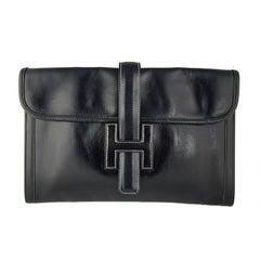 Hermes Black Box Calf Jige