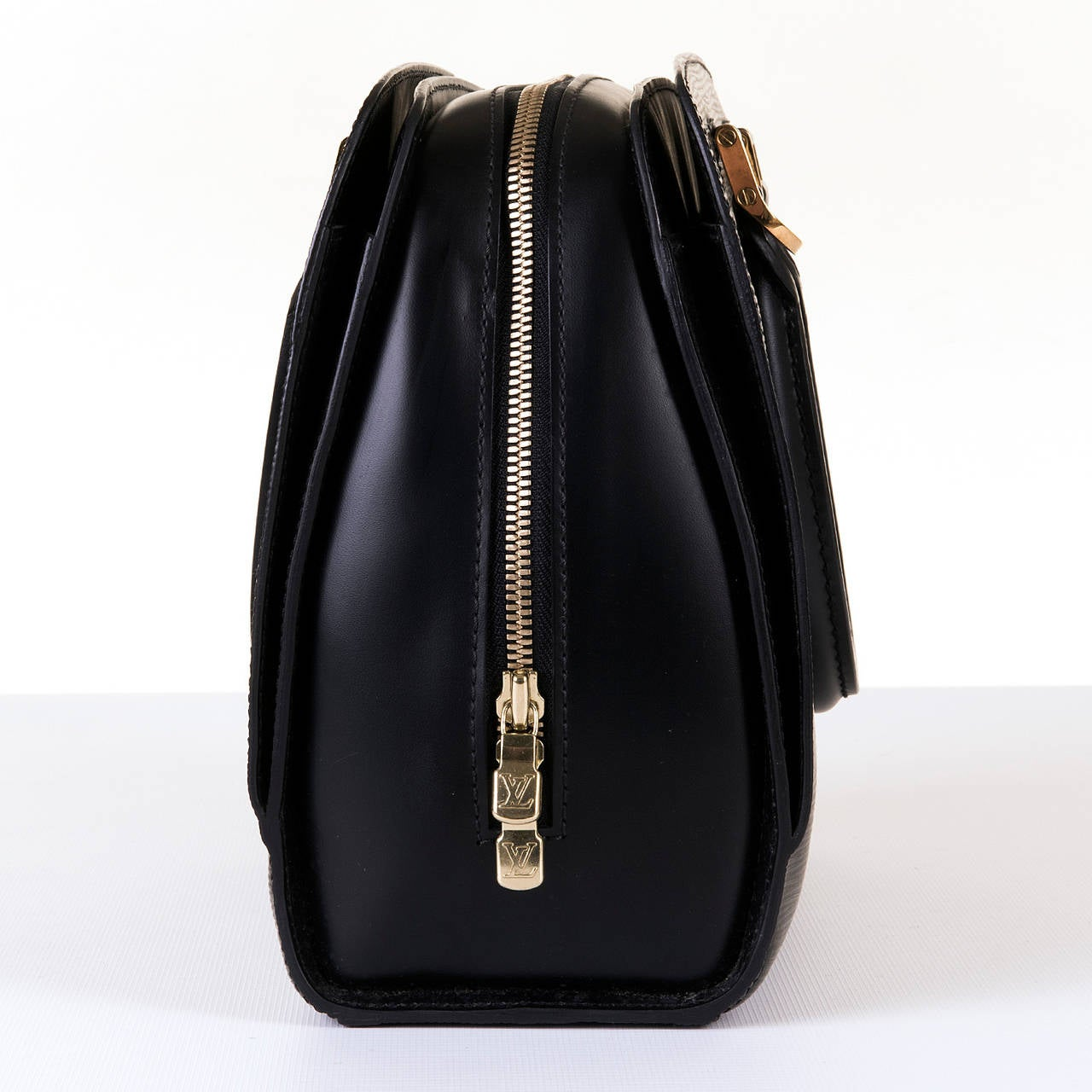 A Super Louis Vuitton 'Pont-Neuf' 25cm Black Epi Bag 4
