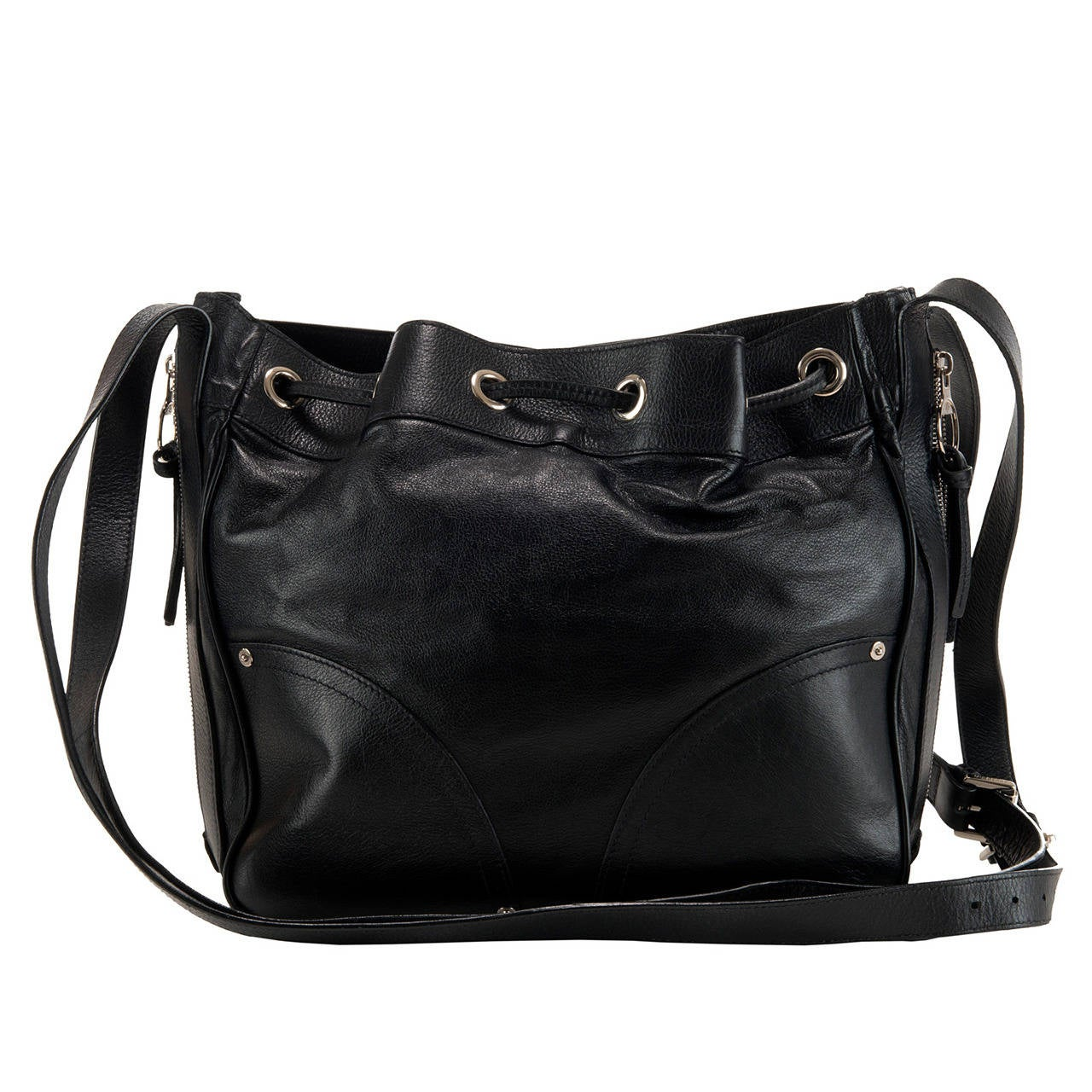 Super Large Black Shoulder/Crossbody or Travel Bag by Mulberry of ...