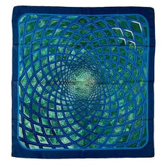 'Vert et Bleu Treillage' by Hermes