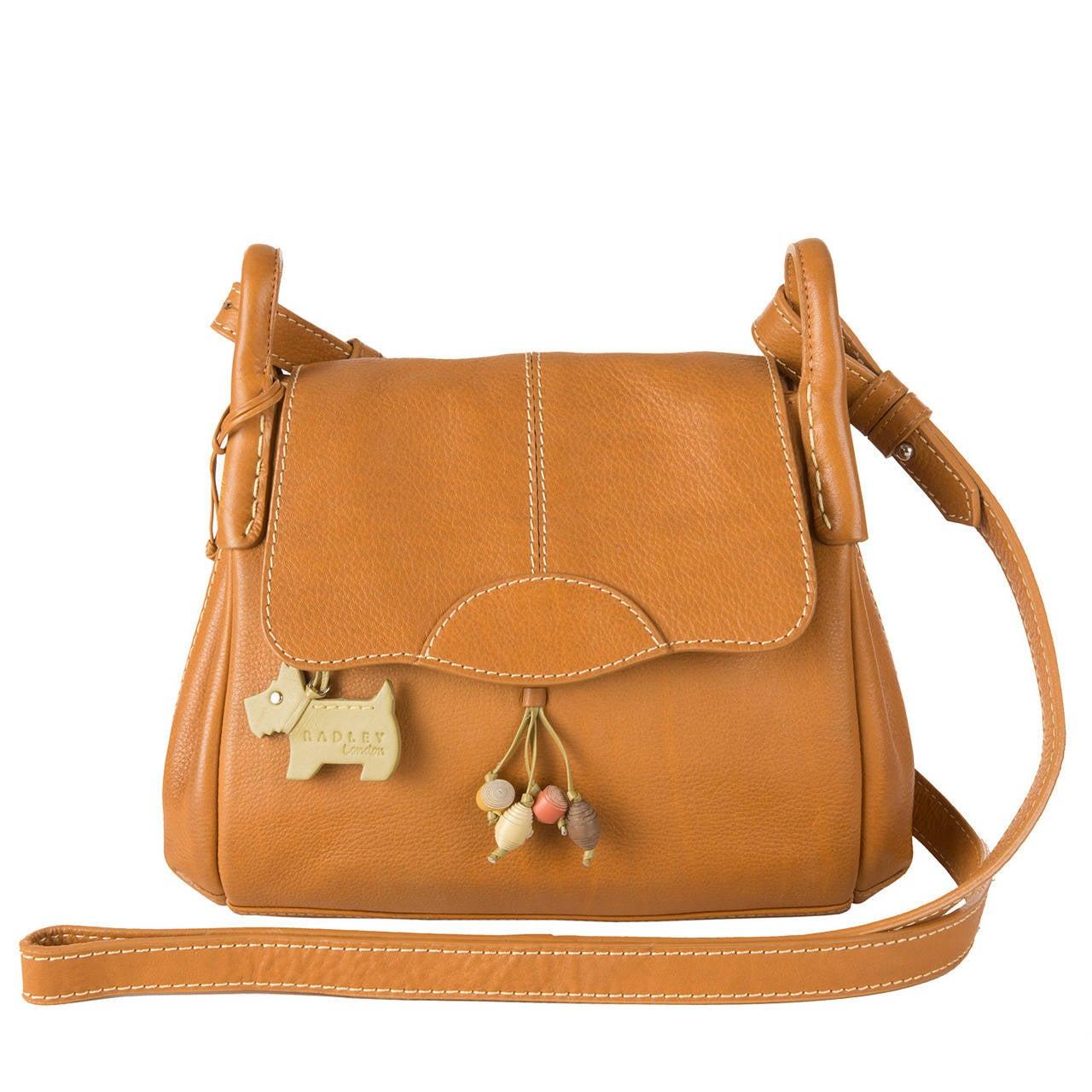 Radley Black Tiled Dog Shoulder Bag 25
