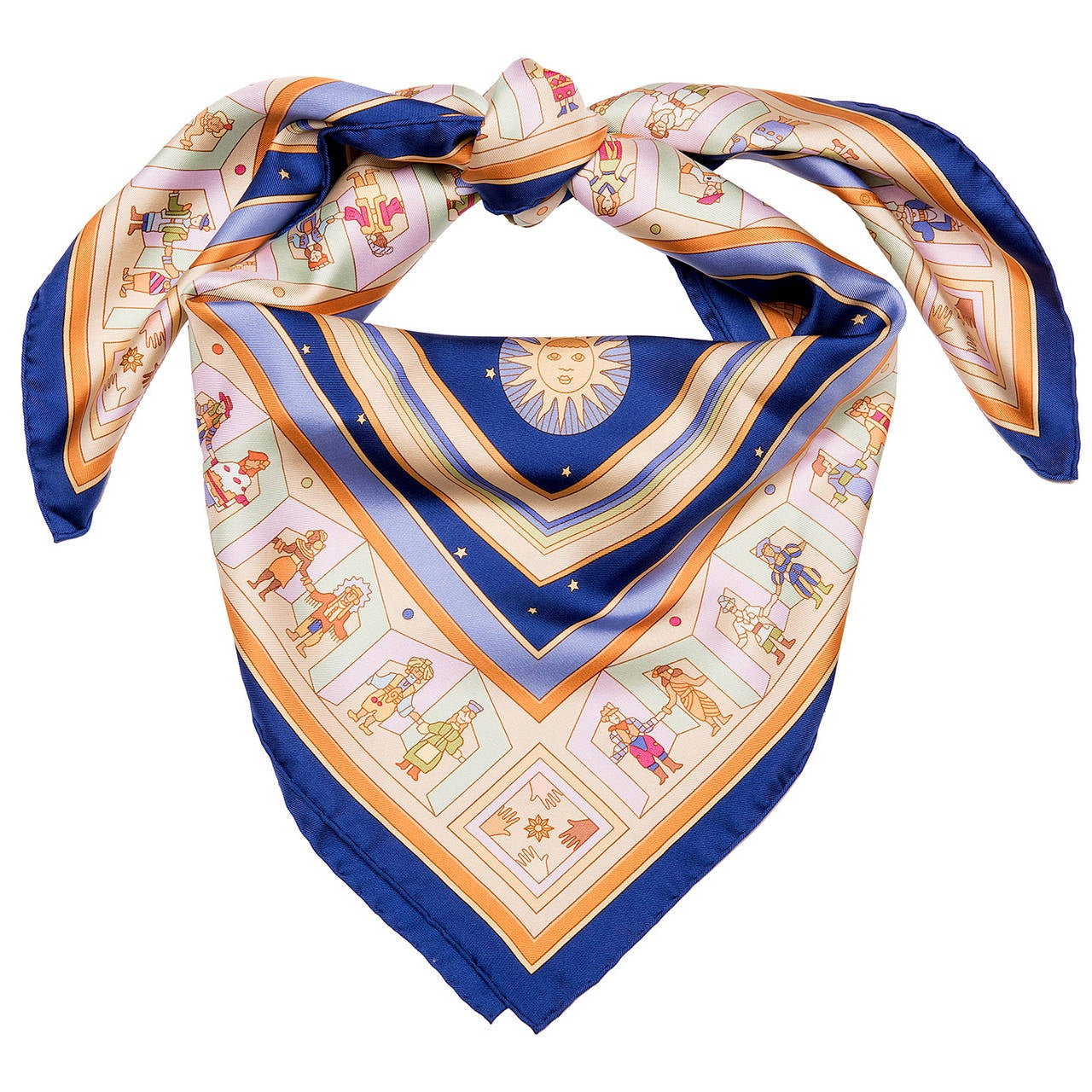 hermes silk scarf donner la by petrossian at