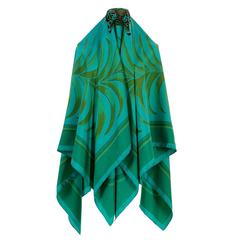 WOW Rare Hermes 140cm Silk Shawl 'Tigre Royale' by Hugo Grygkar