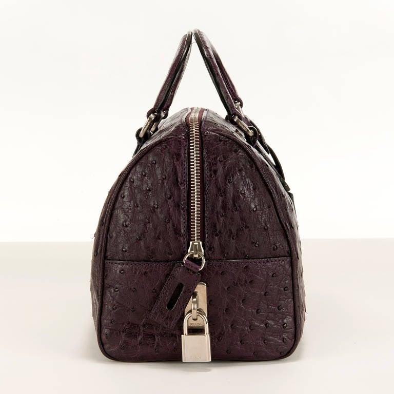 prada ostrich bag pink prada bag. Black Bedroom Furniture Sets. Home Design Ideas