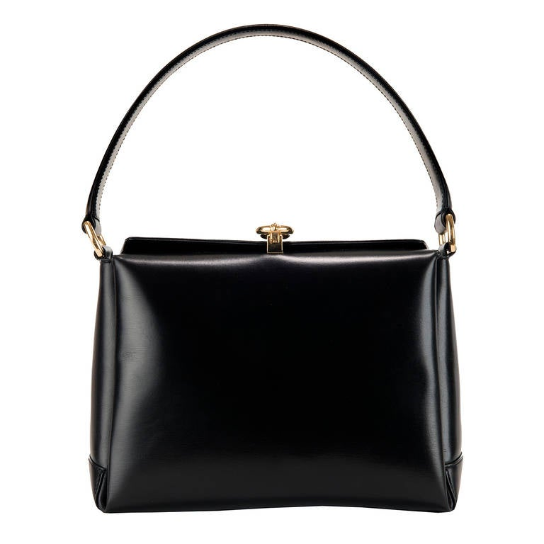 1dc68f1f7245 Vintage Gucci Black Leather Purse | Stanford Center for Opportunity ...