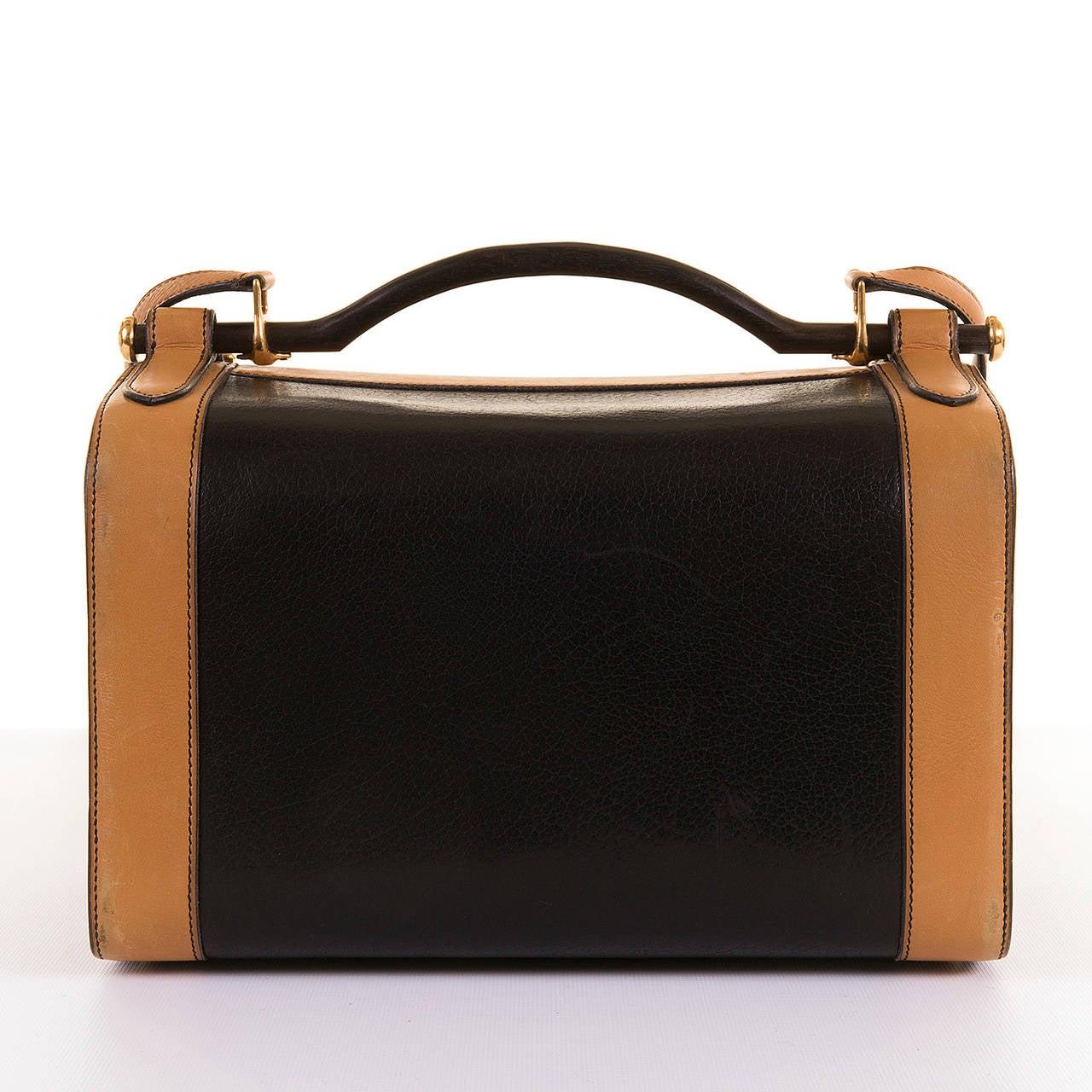hermes kelly 32 bicolor black brown ardennes leather