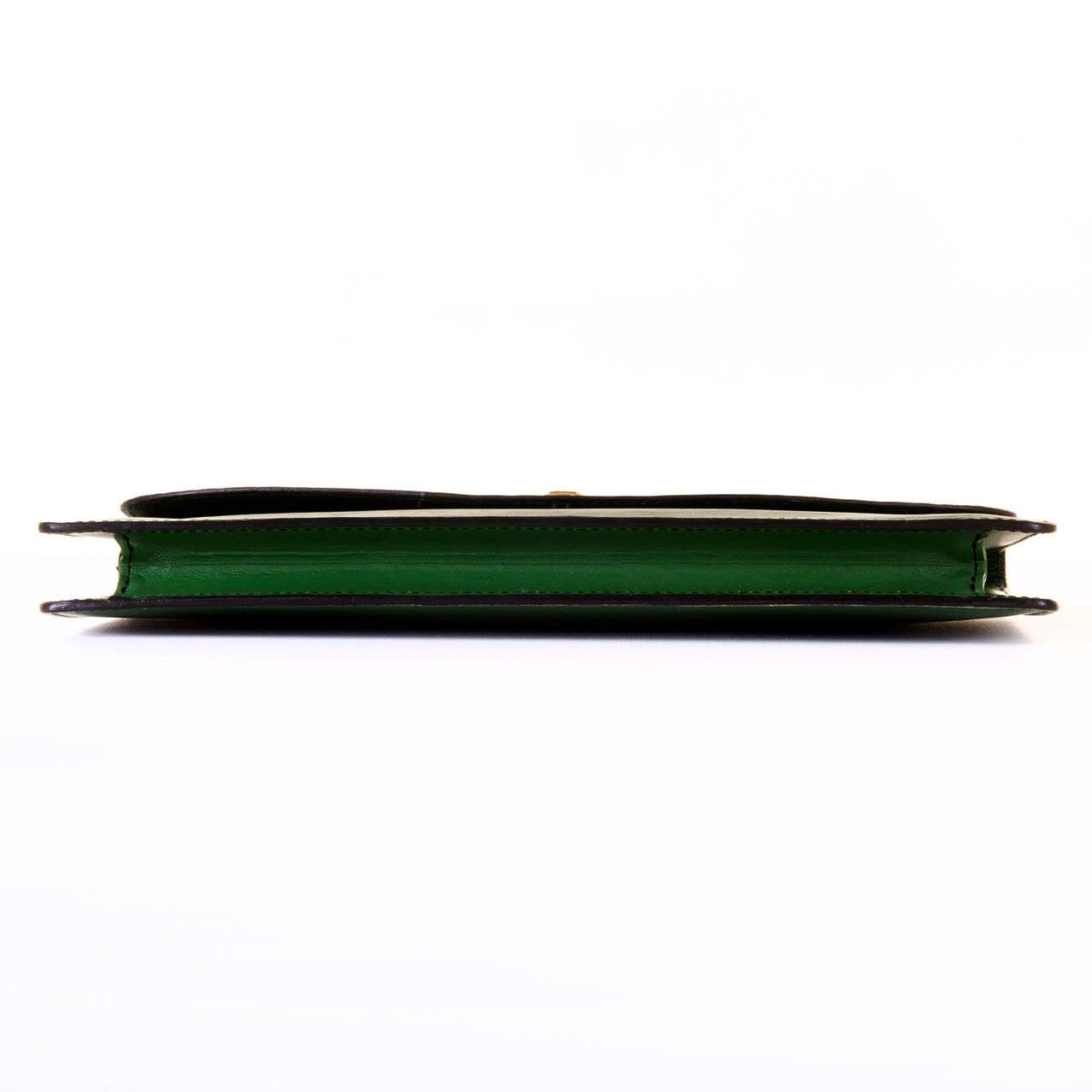 Louis Vuitton 'Menthe' Epi-Leather Clutch Bag 4