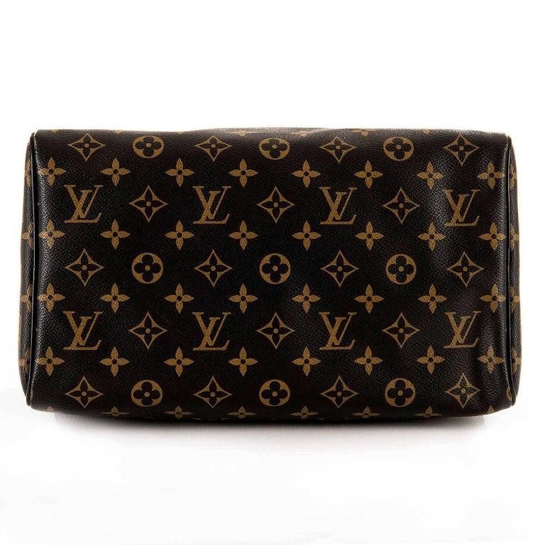 WOW Rare Limited Edition Louis Vuitton 'Sac Mirage' Speedy 30 Logo Handbag GHW 5