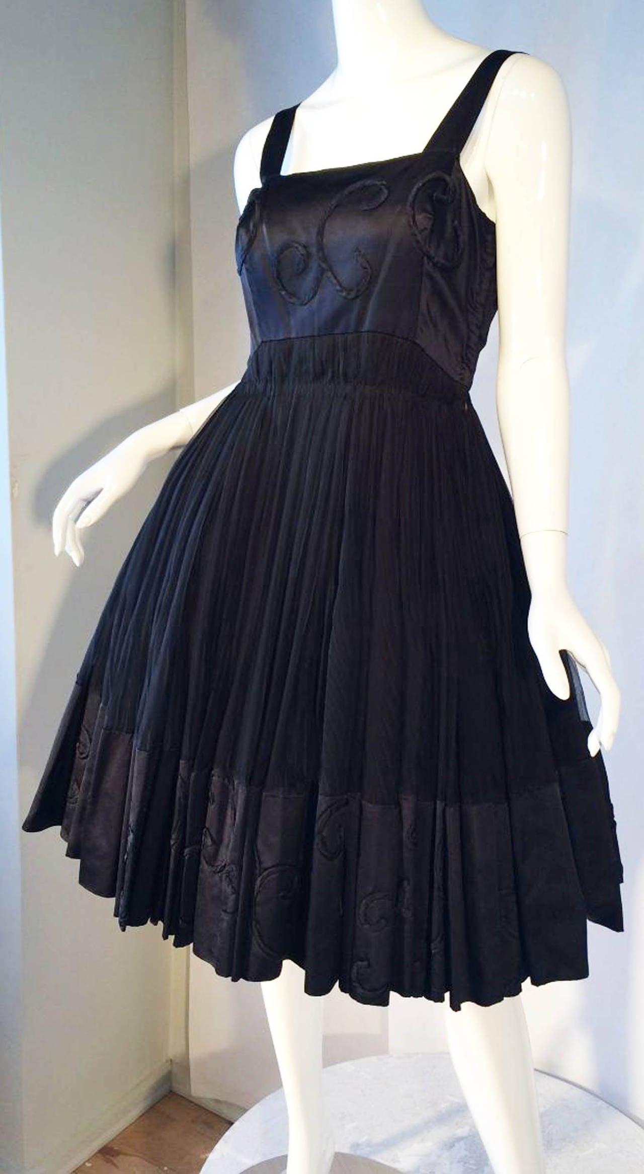 Jean patou haute couture cocktail dress for sale for Haute couture sale