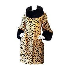 Catherine Malandrino Couture Sheared Mink Coat