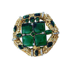 Rare Robert Goossens for Chanel Pendant Brooch, 1970s