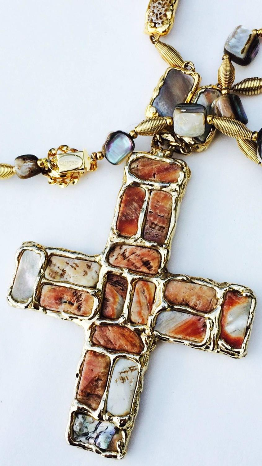 Rare William de Lillo Brutalist Pendant Necklace 1971 For ...