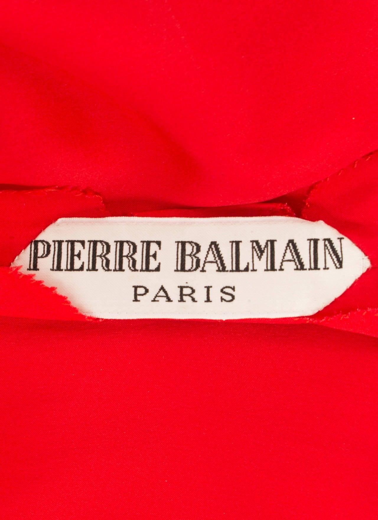 A Pierre Balmain haute couture dress, circa 1968 4