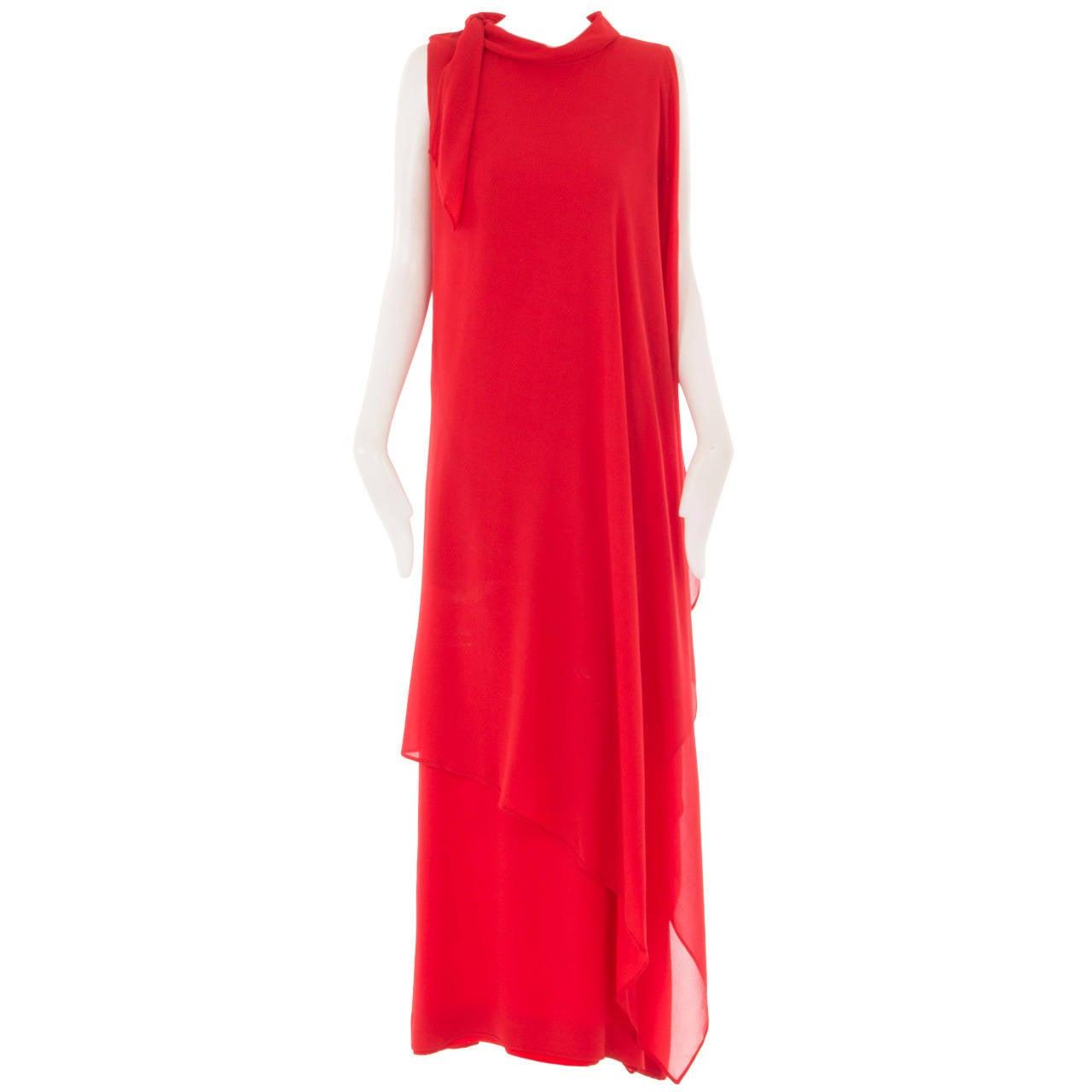 A Pierre Balmain haute couture dress, circa 1968 1