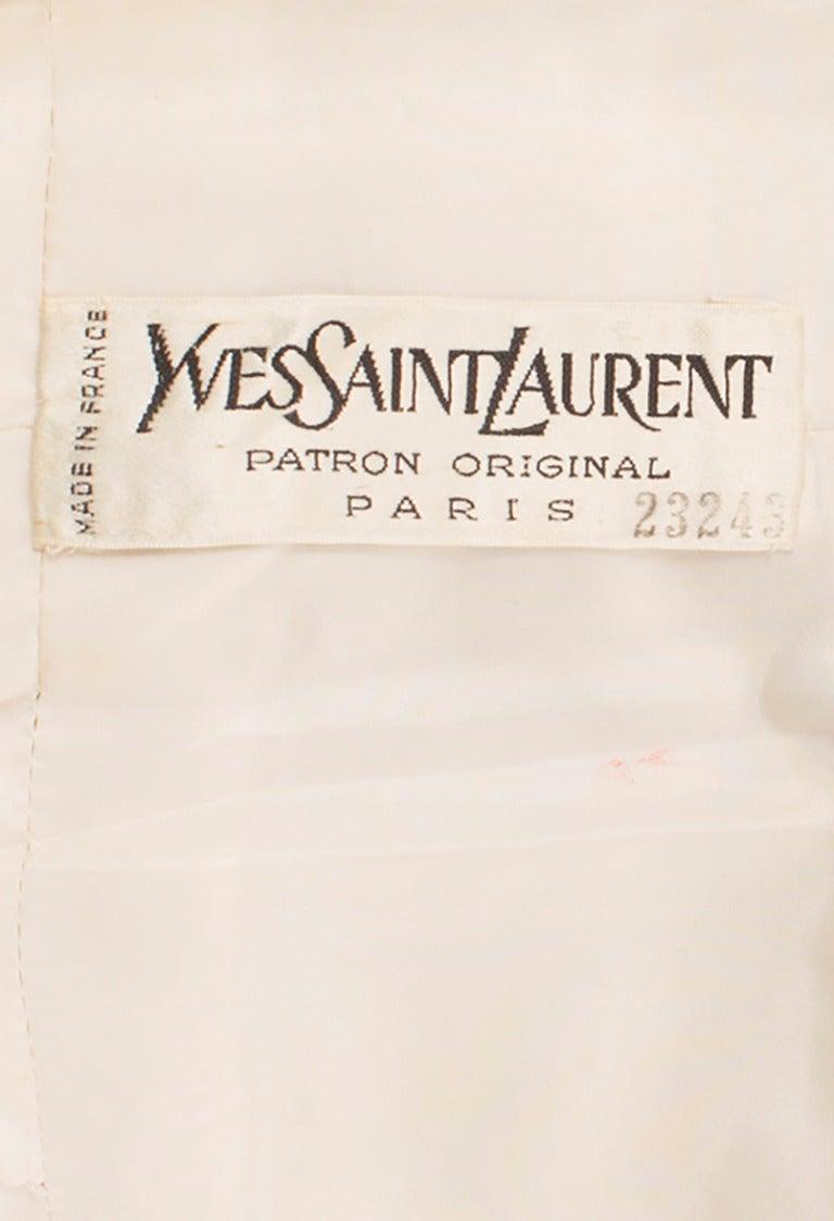 An Yves Saint Laurent Patron Original dress, autumn winter 1969 6