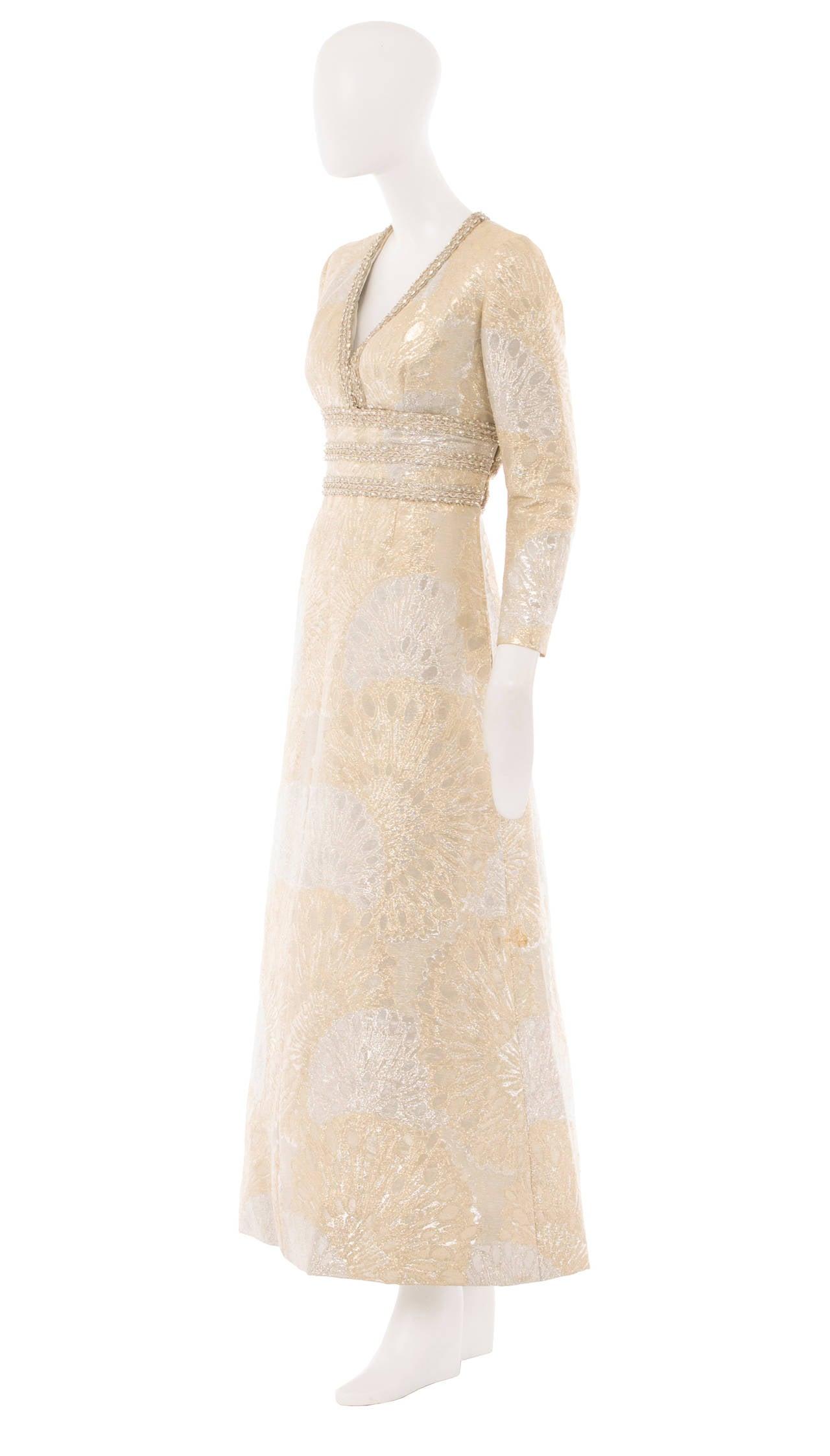 An Yves Saint Laurent Patron Original dress, autumn winter 1969 2