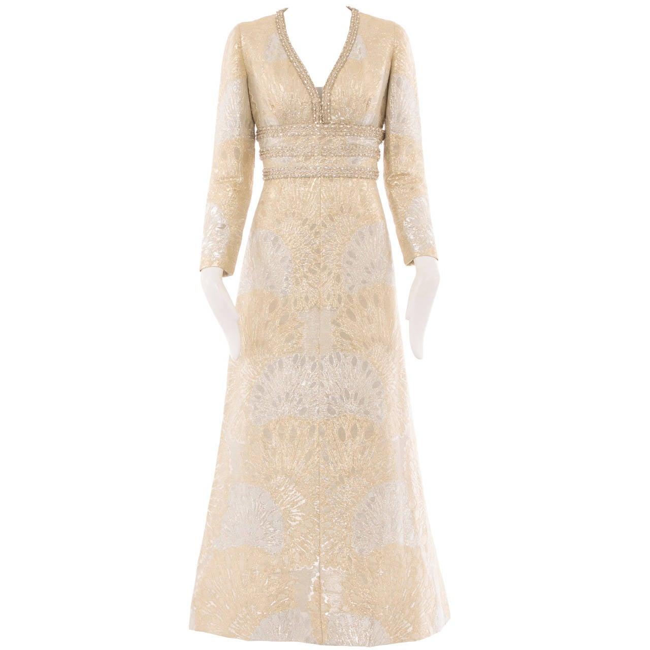 An Yves Saint Laurent Patron Original dress, autumn winter 1969 1